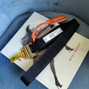 Heron Preston Jacquard Tape Belt
